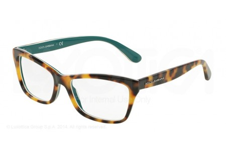 Dolce & Gabbana CONTEMPORARY 0DG3215 2891 TOP HAVANA ON PETROLEUM