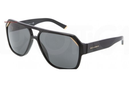 Dolce & Gabbana ICONIC EVOLUTION 0DG4138 501/87 SHINY BLACK