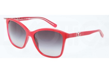 Dolce & Gabbana ICONIC LOGO 0DG4170P 27758G TOP CRYSTAL ON PEARL RED