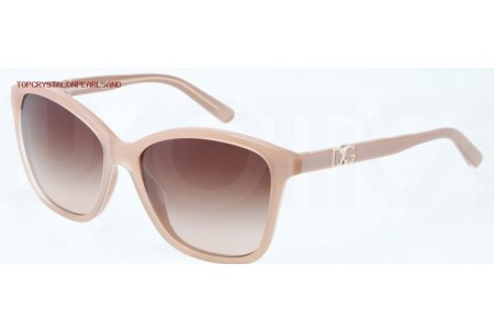 Dolce & Gabbana ICONIC LOGO 0DG4170P 277313 TOP CRYSTAL ON PEARL SAND