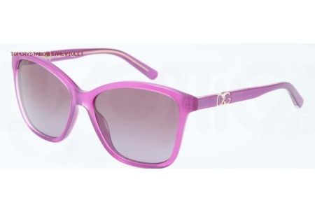 Dolce & Gabbana ICONIC LOGO 0DG4170P 27728H TOP CRYSTAL ON PEARL VIOLET