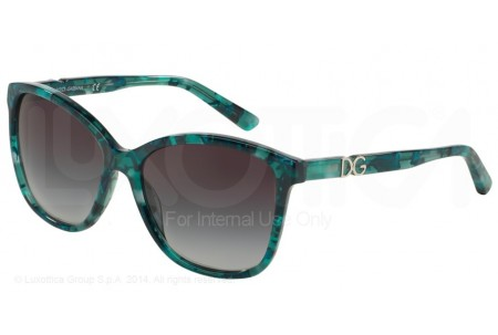 Dolce & Gabbana ICONIC LOGO 0DG4170PM 29118G GREEN MARBLE