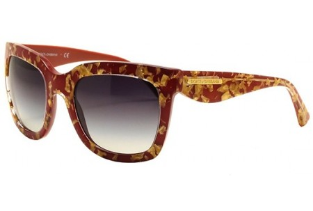 Dolce & Gabbana GOLD LEAF 0DG4197 27488G LEAF GOLD ON RED