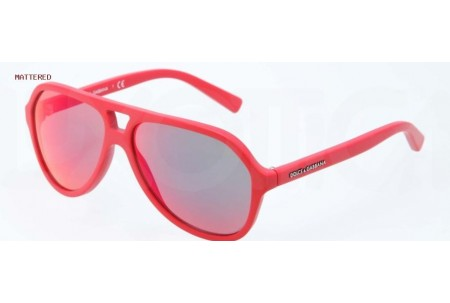 Dolce & Gabbana STRIPES 0DG4201 588/6Q MATTE RED