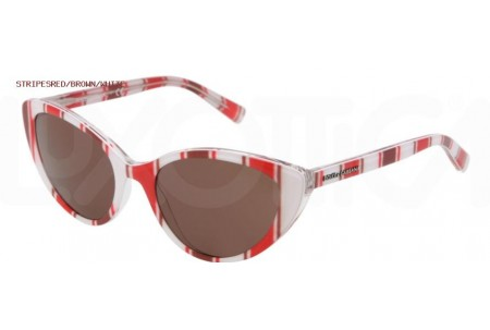 Dolce & Gabbana STRIPES 0DG4202 272273 STRIPES RED/BROWN/WHITE