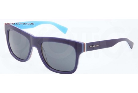 Dolce & Gabbana MULTICOLOR 0DG4203 276987 BLUE/MULTILAYER/AZURE
