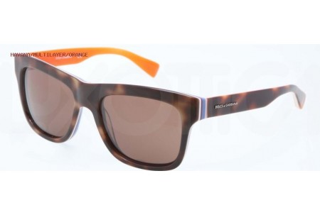 Dolce & Gabbana MULTICOLOR 0DG4203 276573 HAVANA/MULTILAYER/ORANGE