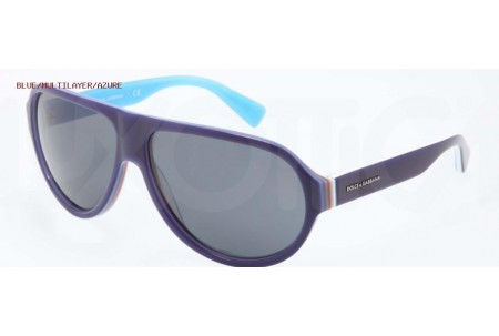 Dolce & Gabbana MULTICOLOR 0DG4204 276987 BLUE/MULTILAYER/AZURE