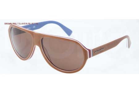 Dolce & Gabbana MULTICOLOR 0DG4204 276773 BROWN/MULTILAYER/BLUETTE