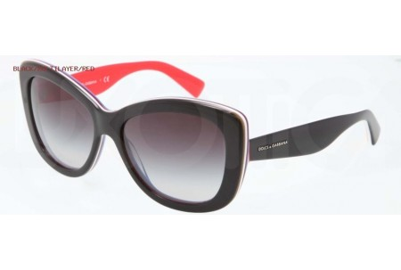 Dolce & Gabbana MULTICOLOR 0DG4206 27648G BLACK/MULTILAYER/RED