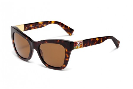Dolce & Gabbana MOSAICO COLLECTION 0DG4214 502/83 HAVANA POLARIZED