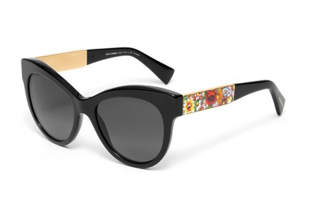 Dolce & Gabbana MOSAICO COLLECTION 0DG4215 501/T3 BLACK POLARIZED