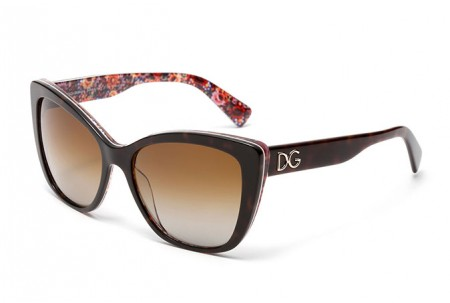 Dolce & Gabbana  0DG4216 2790T5 TOP HAVANA ON MOSAIC POLARIZED