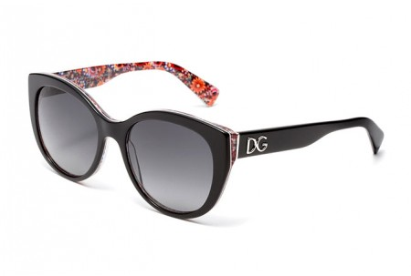Dolce & Gabbana  0DG4217 2789T3 TOP BLACK ON MOSAIC POLARIZED