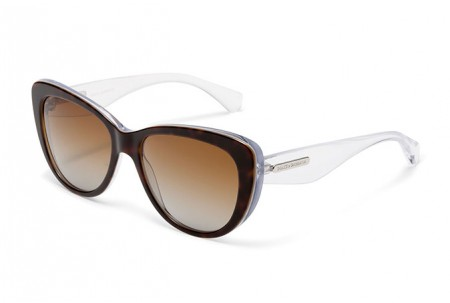 Dolce & Gabbana 3 LAYERS 0DG4221 2795T5 HAVANA/PEARL WHITE/CRYST POLARIZED