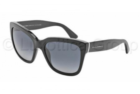 Dolce & Gabbana LACE 0DG4226 501/T3 BLACK POLARIZED