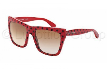 Dolce & Gabbana POIS 0DG4228 287313 TOP BLACK POIS/RED