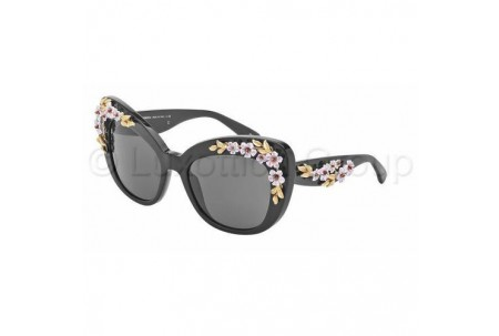 Dolce & Gabbana ALMOND FLOWERS 0DG4230 501/87 BLACK