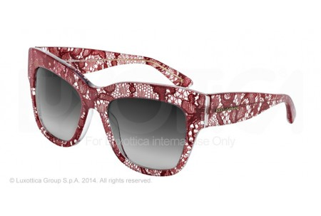 Dolce & Gabbana ALMOND FLOWERS 0DG4231 28528G RED LACE
