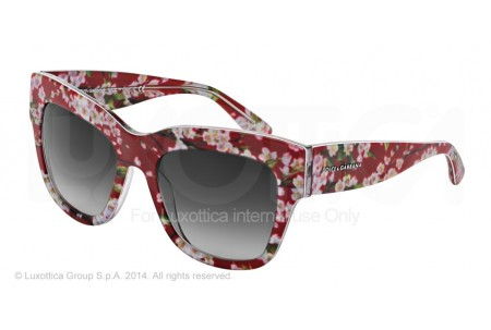 Dolce & Gabbana ALMOND FLOWERS 0DG4231 28458G RED PEACH FLOWERS