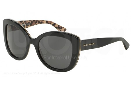 Dolce & Gabbana ENCHANTED BEAUTIES 0DG4233 285787 TOP BLACK ON LEO