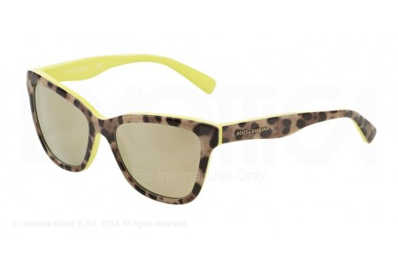 Dolce & Gabbana  0DG4237 28616G TOP LEO ON YELLOW