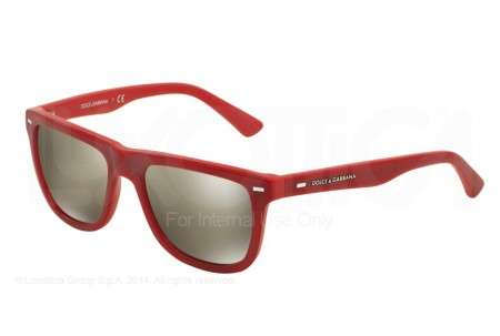 Dolce & Gabbana  0DG4238 29096G TOP TRANSPARENT ON RED