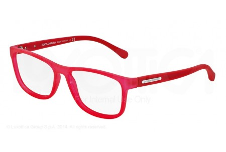 Dolce & Gabbana OVER-MOLDED RUBBER 0DG5003 2693 TRANSPARENT RED RUBBER