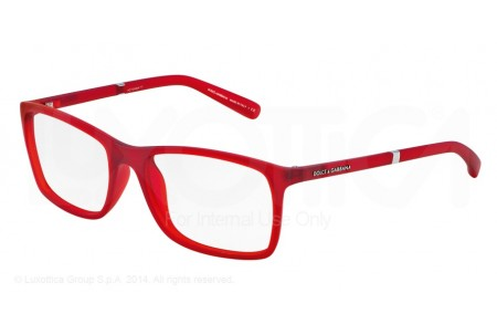 Dolce & Gabbana LIFESTYLE 0DG5004 2787 RED TRANSPARENT RUBBER