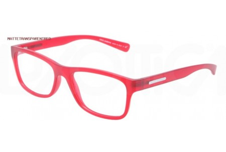 Dolce & Gabbana YOUNG&COLOURED 0DG5005 2753 MATTE TRANSPARENT RED