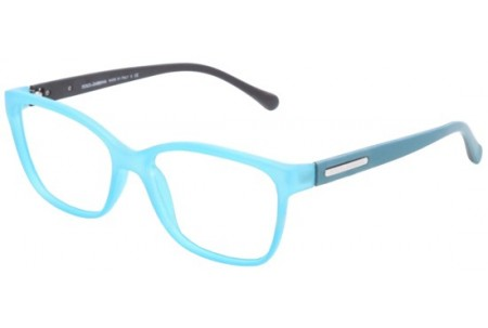 Dolce & Gabbana OVER-MOLDED RUBBER 0DG5008 2816 PETROLEUM RUBBER DEMI TRASP