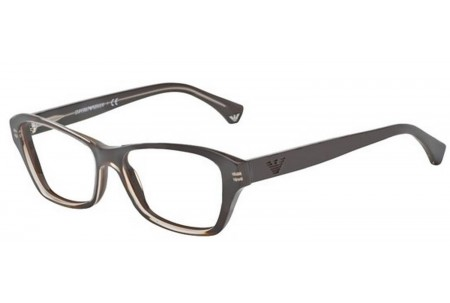 Emporio Armani 0EA3032 5222 TRANSP BROWN/DARK BROWN