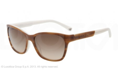 Emporio Armani 0EA4004 504713 STRIPED BROWN/CREAM