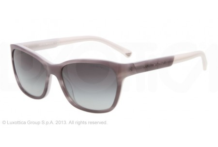 Emporio Armani 0EA4004 50488G STRIPED GRAY/LIGHT GRAY