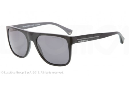 Emporio Armani 0EA4014 510281 TOP BLACK ON GRAY POLARIZED