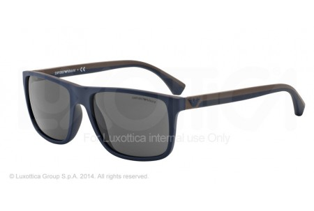Emporio Armani 0EA4033 523087 TOP BLUE/BROWN RUBBER