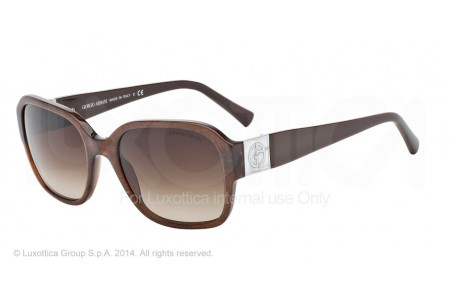 Giorgio Armani 0AR8022H 515513 BROWN FABRIC EFFECT