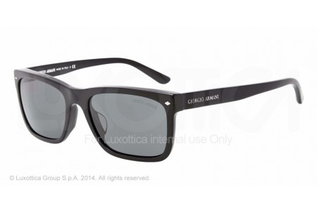Giorgio Armani 0AR8028 5001R5 BRUSHED BLACK