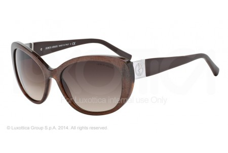 Giorgio Armani 0AR8030H 515513 BROWN FABRIC EFFECT