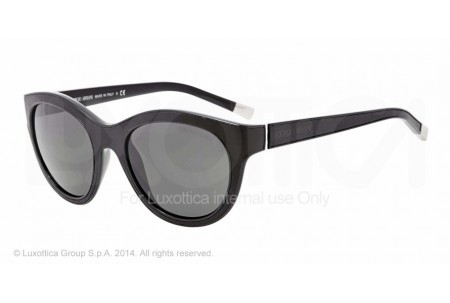 Giorgio Armani 0AR8032Q 501787 BLACK/BLACK LEATHER