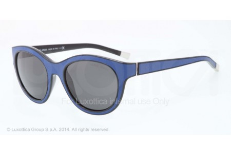 Giorgio Armani 0AR8032Q 518587 BLACK/PERIWINKLE LEATHER