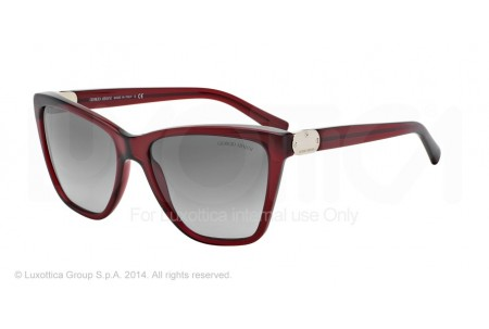 Giorgio Armani 0AR8035 524011 TRANSPARENT RED