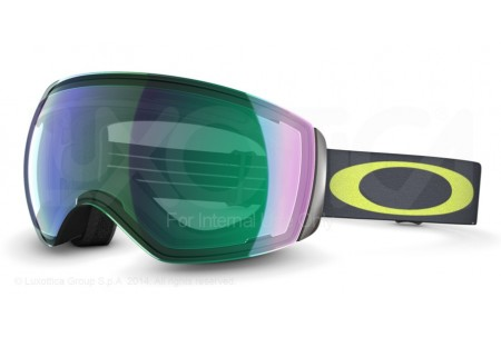 Oakley FLIGHT DECK 0OO7050 59-705 FLIGHT DECK 1975 LIME GMTL W/J