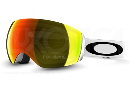Oakley FLIGHT DECK 0OO7050 59-713 FLIGHT DECK MATTE WHITE W/FIRE