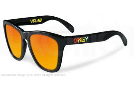Oakley FROGSKINS 0OO9013 24-325 POLISHED BLACK (VR/46)