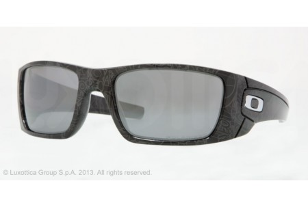 Oakley FUEL CELL 0OO9096 909607 BLACK/GREY HISTORY TEXT POLARIZED