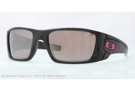 Oakley FUEL CELL 0OO9096 909680 MATTE BLACK (BREAST CANCER) POLARIZED