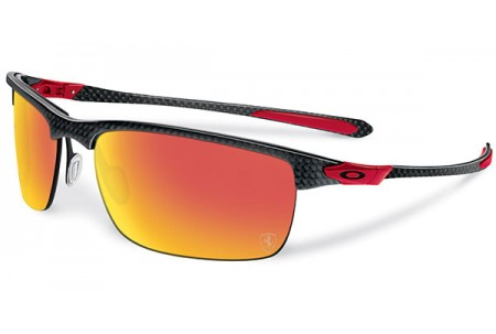 Oakley CARBON BLADE 0OO9174 917406 POLISHED/ FERRARI RED POLARIZED