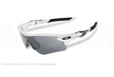Oakley RADARLOCK PATH 0OO9181 918120 MATTE WHITE POLARIZED