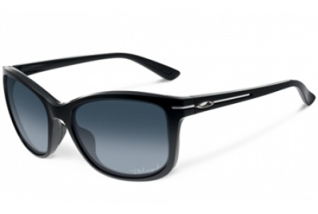 Oakley DROP IN 0OO9232 923201 POLISHED BLACK POLARIZED